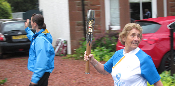 Queens Baton Relay 2014-Uplawmoor