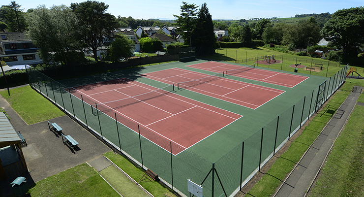Uplawmoor Tennis Club Courts